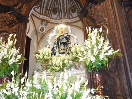 Virgen del Collado, Mayos 2009