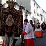 Bajada de la Virgen del Collado por el Barrio San Francisco, Pascuamayo 2009, Santisteban del Puerto