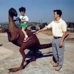 Inauguración Huellas Arcosaurio -10 julio 1999- Pedro Salido y Sergio Guerrero