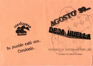 Agosto 1999 deja huella en Santisteban