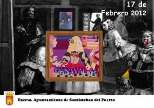 Carte Carnaval Santisteban 2012