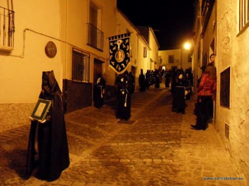 Procesión de la Soledad por Escultor Higueras, 2009