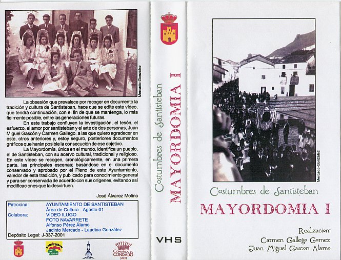 Carátula Mayordomía I