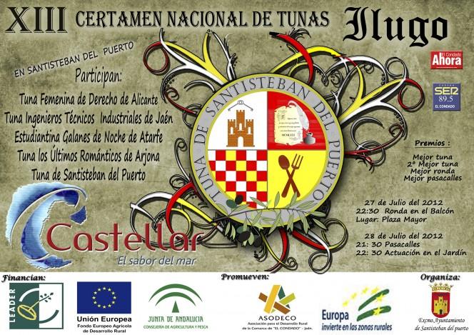 XIII Certamen de Tunas Ilugo, Santisteban 2012