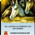 Cartel Feria de Septiembre Santisteban 2012