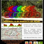 Cartel Primera Quedada Mountain Bike Sierra del Oro