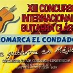 Cartel XIII Concurso Guitarra Clásica El Condado 2013