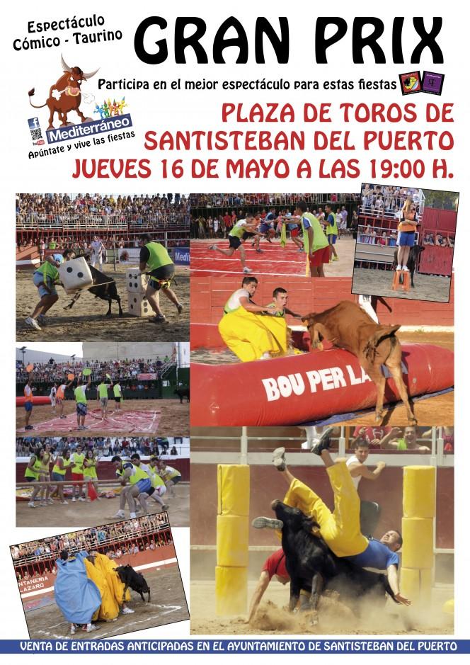 Cartel Gran Prix Santisteban Pascuamayo 2013