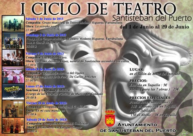 I Ciclo de Teatro Santisteban del Puerto, 2013
