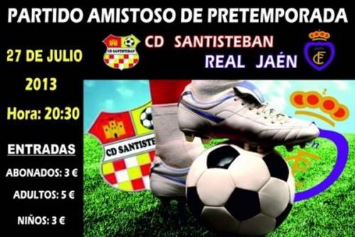 Partido CD Santisteban-Real Jaén 2013