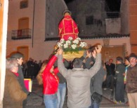 Procesión San Esteban 2013 encerrándose