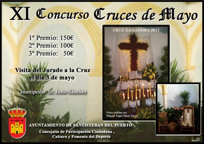 Cartel XI Concurso Cruces de mayo 2014