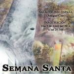 Cartel II Exposición Semana Santa Santisteban, por Silvia Salido Benítez