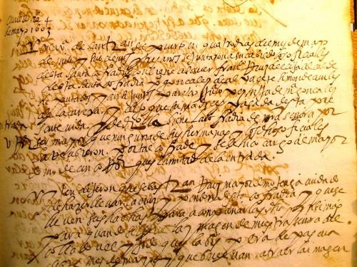 Acta 1604, 4 de mayo Cofradía Virgen del Collado