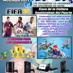 Cartel V Campeonato Videojuegos Santisteban del Puerto
