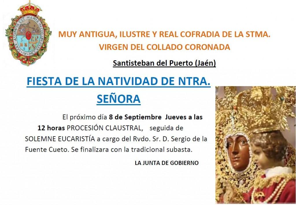 Anuncio Natividad 2016