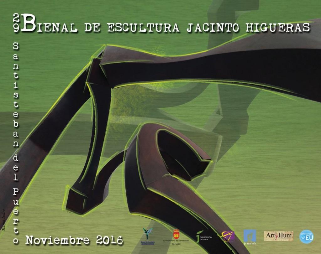 Cartel Bienal Jacinto Higueras 2016
